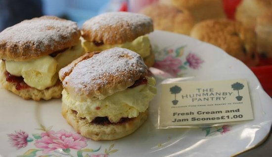 The Hunmanby Pantry: Jam & Cream Scones