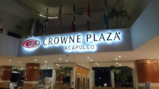 Crowne Plaza Acapulco: Lobby
