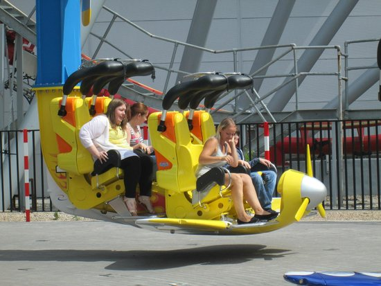 Drayton Manor Park: Air race - new ride