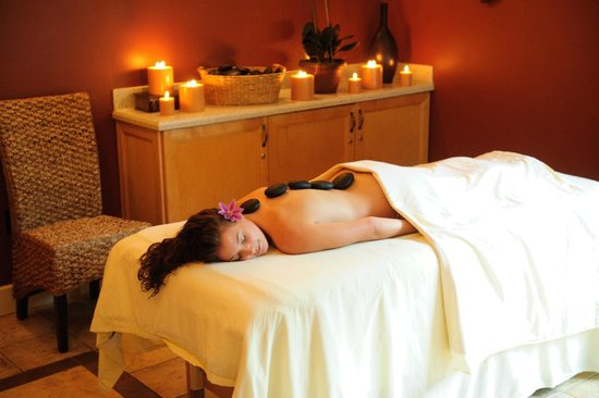 The Spa at Turf Valley Hot Stone Massage