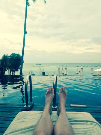 Anantara Lawana Koh Samui Resort: View from the sun lounger!