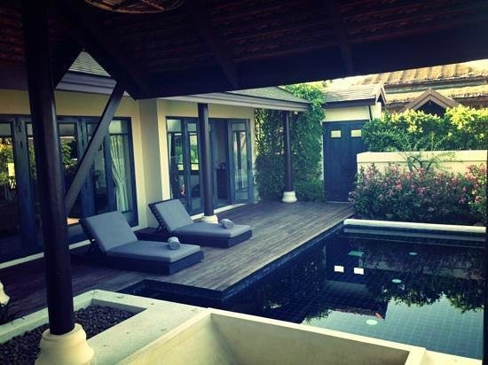 Anantara Lawana Koh Samui Resort: Outside space at our villa