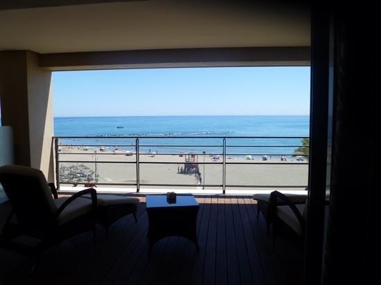 Vincci Seleccion Aleysa Hotel Boutique & Spa : vue de notre chambre