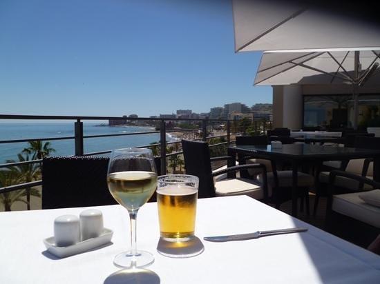Vincci Seleccion Aleysa Hotel Boutique & Spa : Vue de la terrasse