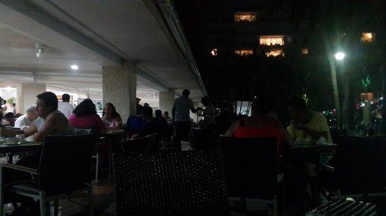 Krystal Ixtapa: restaurante