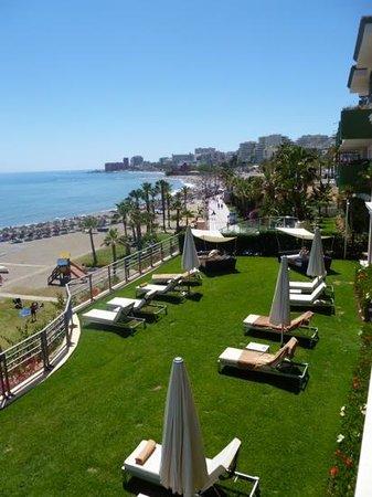Vincci Selección Aleysa Hotel Boutique & Spa: terrasse jardin
