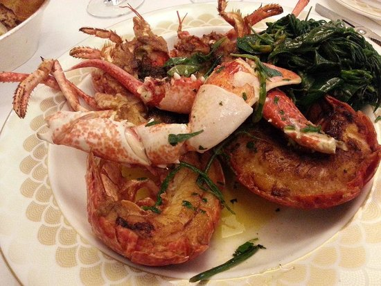 Scott's : Whole Grilled Lobster
