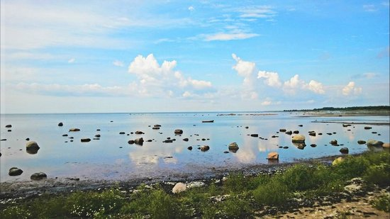 Saare County, Estonia: The shores of Saarenmaa