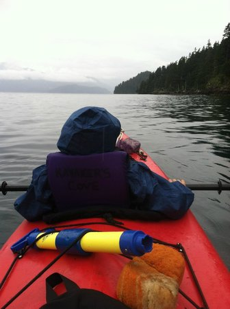 Kayakers Cove: My son kayaking