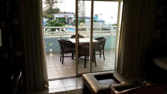 Beaches Ocho Rios Resort & Golf Club : Lovely and spacious balcony
