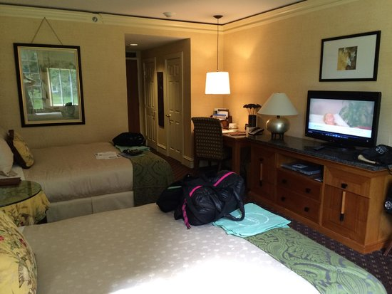 Canyon Ranch in Lenox: Standard guest room with two double beds