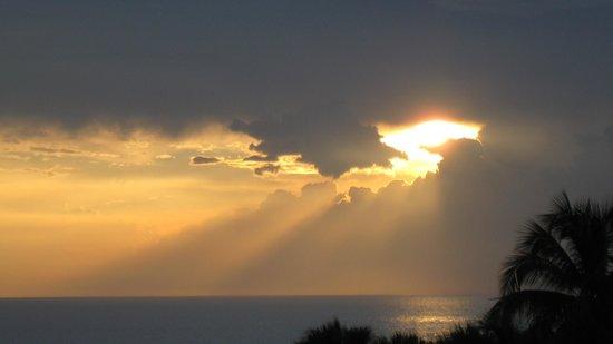 Barceló Solymar Arenas Blancas Resort: coucher de soleil de la chambre 4322