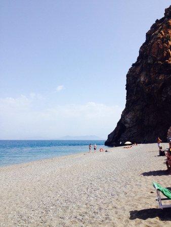 Club Valtur Capo Calava: La spiaggia