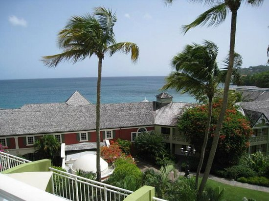 Sandals Regency La Toc Golf Resort and Spa: Our view from the room