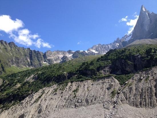 Montenvers Train - La Mer de Glace: super views from station!