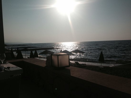 White Palace Luxury Resort: View from seaside restaurant