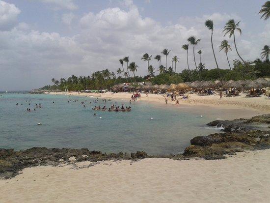 Iberostar Hacienda Dominicus: playa.
