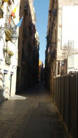 Ciutat Vella: Очень узко...