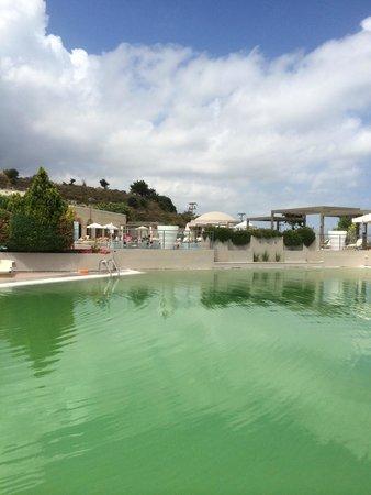 Kipriotis Panorama Hotel & Suites : groen zwembad