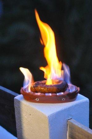 Helios Ericeira : Chorizo Flamer