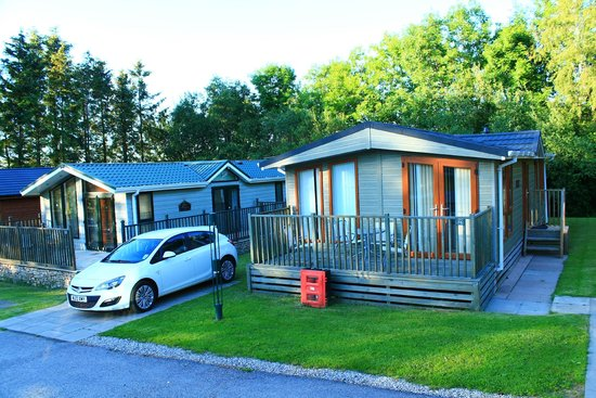 Thanet Well Lodge Retreat: Lodge & parking