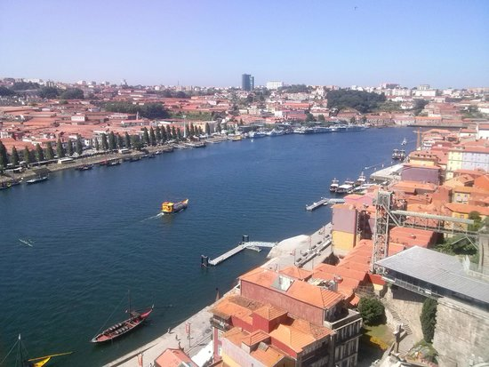 Hotel Universal: Vista do Porto-Rio Douro