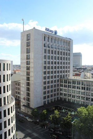 Swissotel Berlin: Blick aus dem Fenster