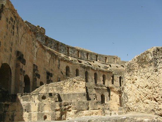 El Jem Amphitheatre: Ruiny rzymskiego koloseum