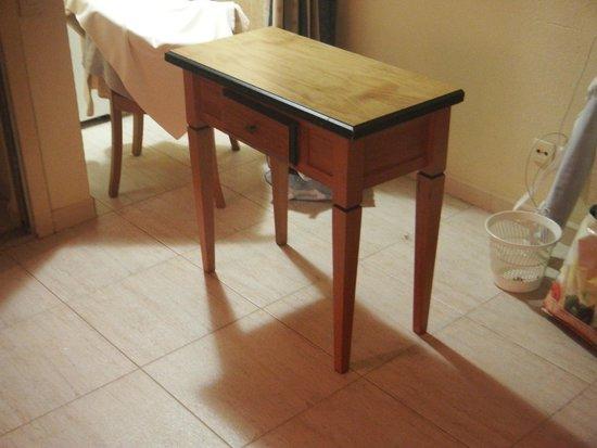 Hotel Apartamentos Pyr Fuengirola: Table pliée