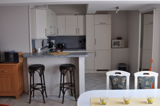 Strandhotel: Küche