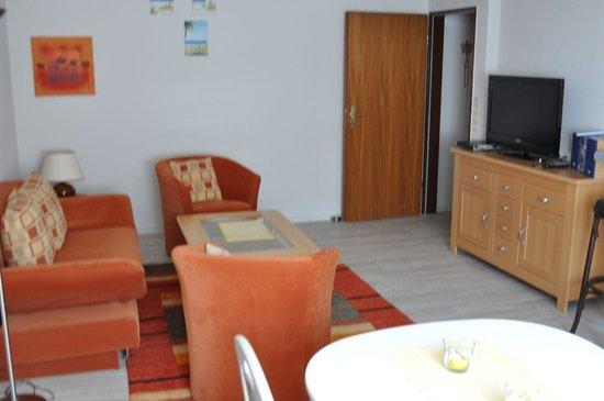 Strandhotel: Wohnzimmer