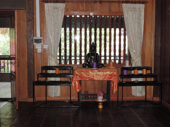 Angkor Bodhi Tree Retreat and Yoga Centre: Yoga room