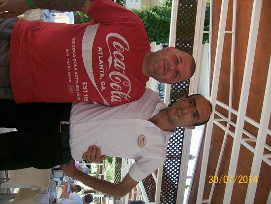 Kervansaray Marmaris: Fab waiter