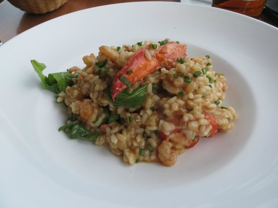 Chez Mathilde : Risotto aux fruits de mer