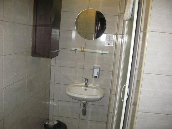 Hotel Delta: ванная комната