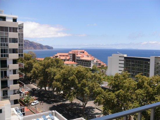Hotel Girassol: View from balcony