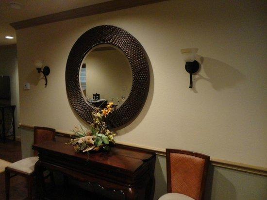 The Sanford House : Entry desk