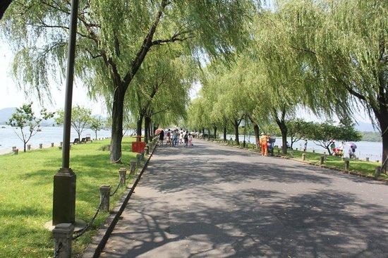Haihua Hotel Hangzhou : Causeway antara Jembatan Putus dan Jembatan Dajien