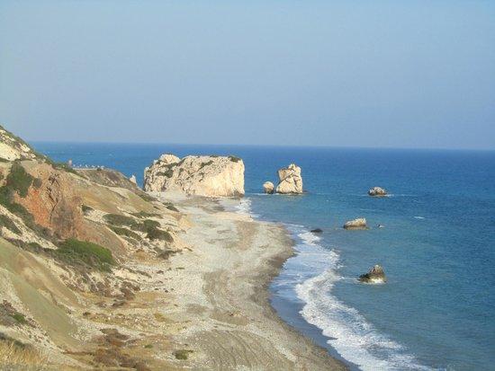 Aphrodite's Rock : Sea view