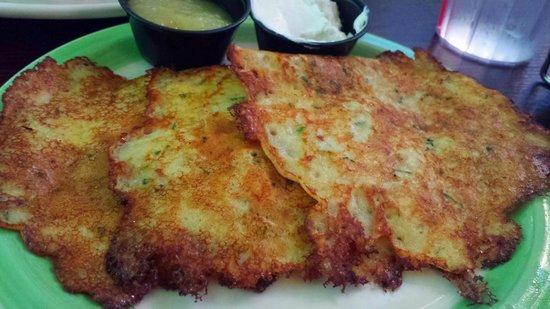 Perkins Resturant and bakery: Potato Pancakes
