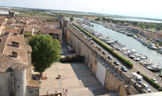 Tours et Remparts d'Aigues-Mortes : Great views