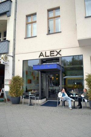 Alex Hotel: вид