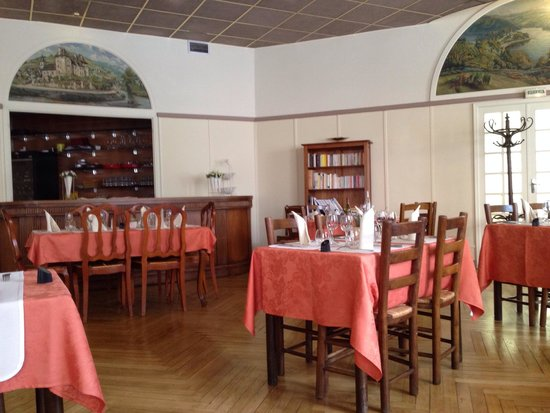 Hotel du Lion D'Or Restaurant : Dining room