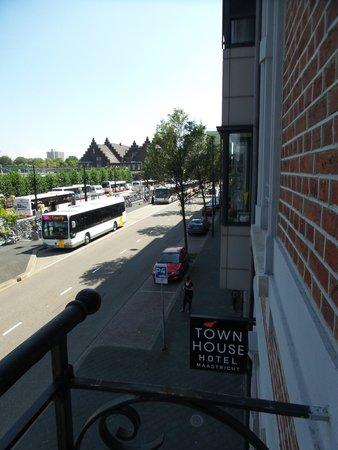 Townhouse Hotel Maastricht: Balkon
