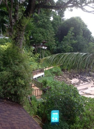 Amari Phuket: view from the balcony