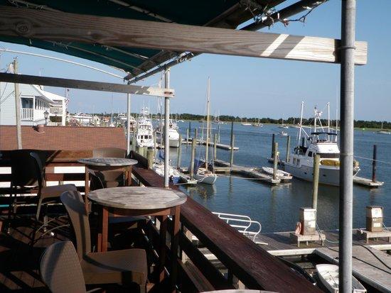 Finz Grill & Bar: view