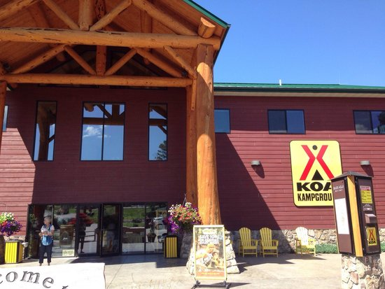 Mount Rushmore KOA at Palmer Gulch Resort: Hill city koa