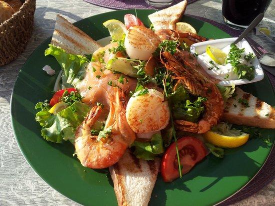 Le remblai chez Valerie : salade atlantique