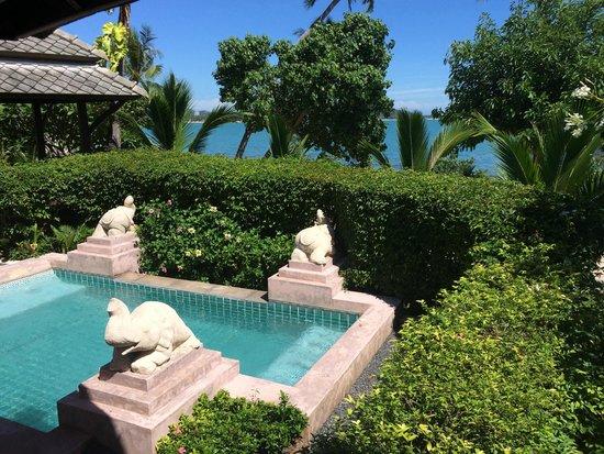 Fair House Villas & Spa: la vue depuis la villa #320