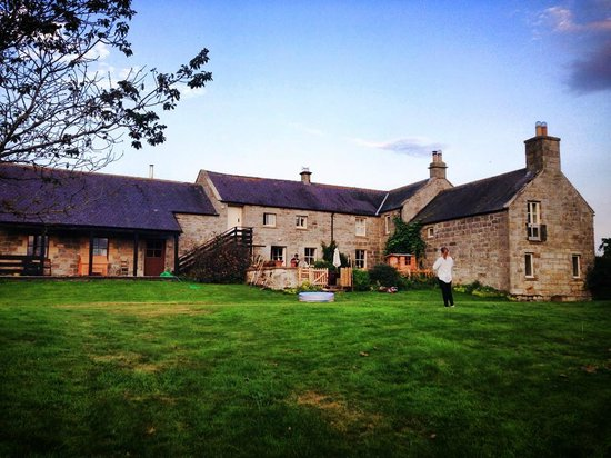 Westfield house farm bed and breakfast thropton england for Westfield house